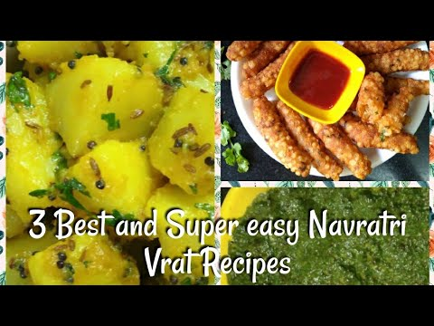 3 Best and Super easy Navratri Vrat Recipes | Navratri vrat dishes - Neeru recipes and more