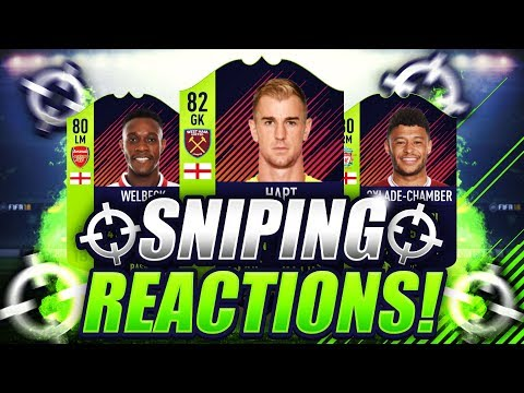 FIFA 18   SNIPING PATH TO GLORY CARDS 😱 SNIPING REACTIONS EP9 🐧