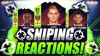 FIFA 18 | SNIPING PATH TO GLORY CARDS 😱 SNIPING REACTIONS EP9 🐧