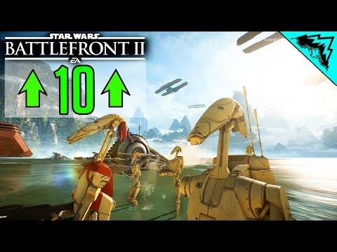 Battlefront 2: 10 Best Improvements (Star Wars Battlefront II Multiplayer Gameplay)