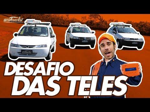 GOL X CELTA X PALIO: DESAFIO DAS TELES - PARTE 1 - ESPECIAL #57 | ACELERADOS