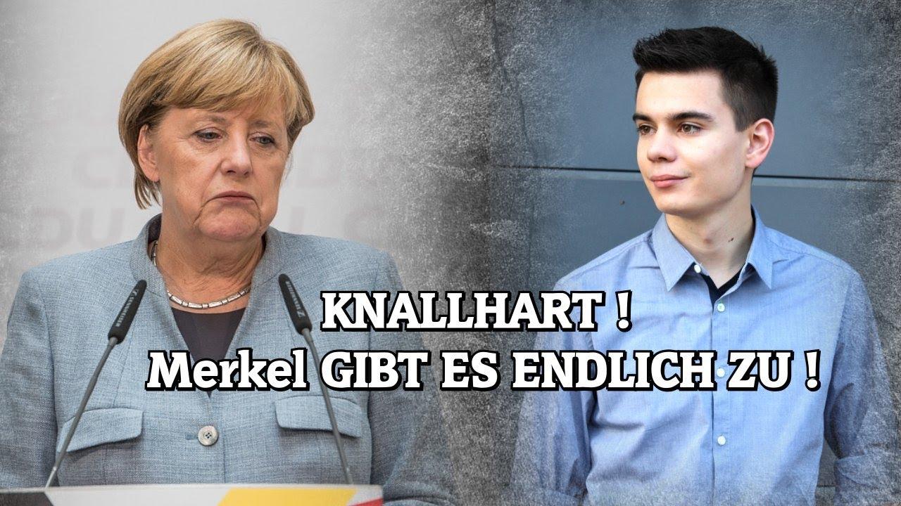 KNALLHART! Merkel GIBT ES ENDLICH ZU!