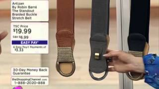 Artizan by Robin Barre Standout Braided Buckle Stretch Belt Thumbnail