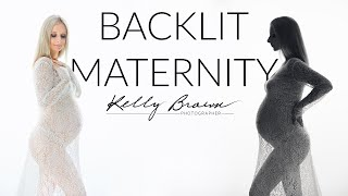 BackLit Maternity Photography Made Easy
