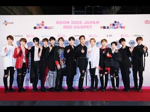 [KCON 2018 JAPAN]RED CARPET LIVE_DAY2