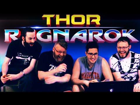 Thor: Ragnarok Teaser Trailer REACTION!!