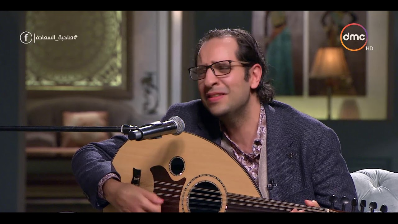 """صاحبة السعادة - أحمد أمين يغني """" إيبو مش بسكوته """" على العود بطريقة رائعة ويفاجئ إسعاد يونس"""