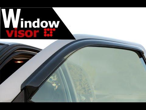 Window Visor Window Deflector Installation Tape-On by LT Sport