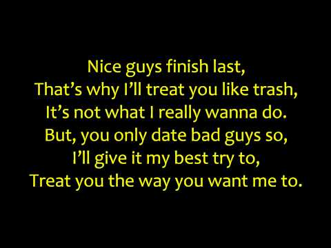 Nigahiga - Nice Guys ( instrumental version! - Karaoke)+ Lyrics HD