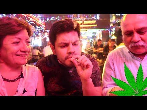 Fumando MARIHUANA con mis PAPAS en Amsterdam