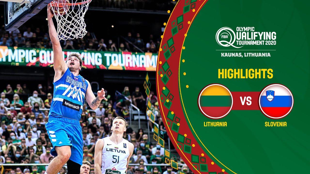 Lithuania - Slovenia | Final | Full Highlights