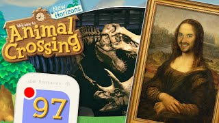 [Roomtour] Kunst & Fossilien Museum VOLLSTÄNDIG! 🏝️ ANIMAL CROSSING: NEW HORIZONS 🏝️ #97