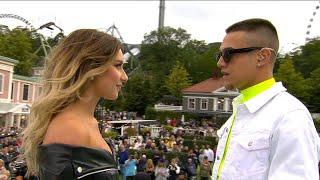 """Starka känslor när Hanna Ferm och Liamoo uppträder med låten """"Hold You""""  - Lotta på Liseberg (TV4)"""
