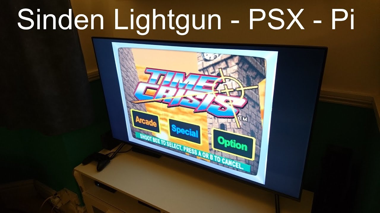 Playstation Lightgun Games on Raspberry Pi – Sinden Lightgun