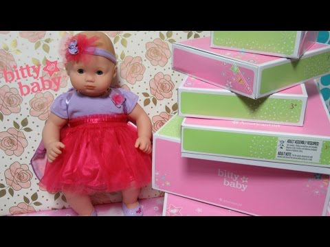 American Girl Bitty Baby Haul + Bitty Baby Ella Tries On Flutter And Fly  Outfit!