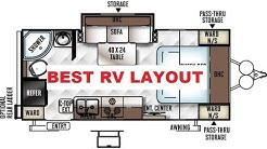 BEST RV LAYOUT EVER, 21FBRS MICRO LITE, Flagstaff