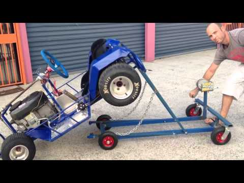 Electric Winch Kart Stand Doovi