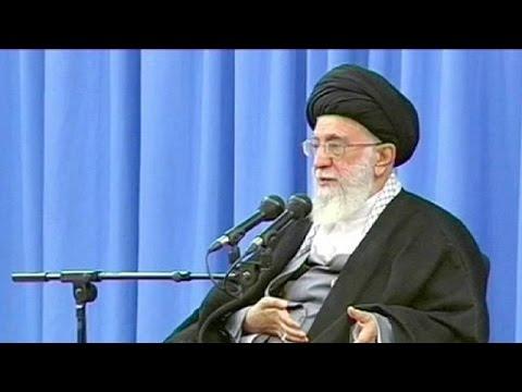 Iran's supreme leader warns against US 'deceit and treachery'