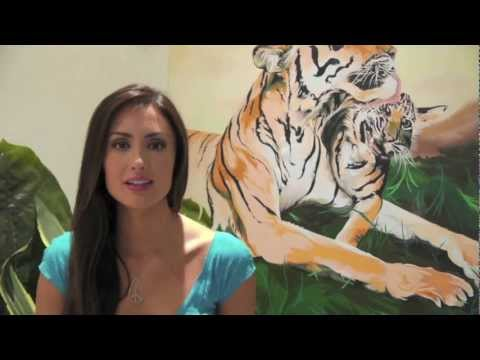 Katie Cleary Presenting Peace4Animals and Care2 PSA