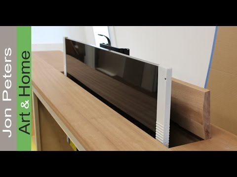 Interior Design Tips -  Making the Top of a TV Lift Cabinet by Jon Peters