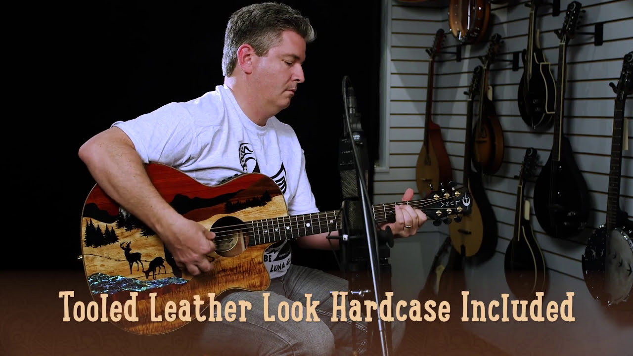 06e12096c96 Vista Deer Tropical Wood Acoustic-Electric Guitar - YouTube