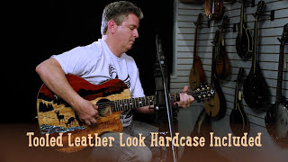 Vista Deer Tropical Wood Acoustic-Electric Guitar