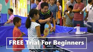 Table Tennis Beginners' Class