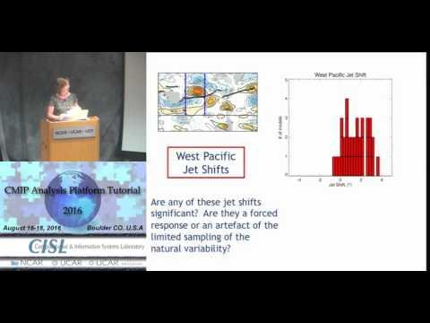 Tropospheric dynamic changes (I. Simpson, NCAR)