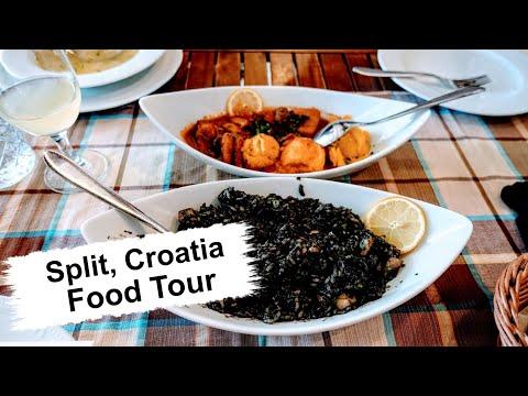 Split, Croatia Food \u0026 Restaurants   Eating All The Best Croatian Cuisine!