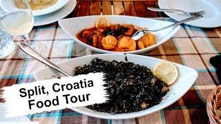 Split, Croatia Food & Restaurants | Eating All The Best Croatian Cuisine!