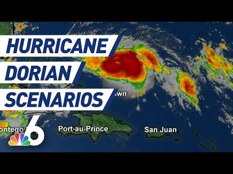Hurricane Dorian Scenarios: Breaking Down Storm's Path, Storm Surge, Euro Model | NBC 6