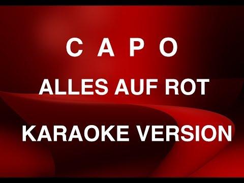 CAPO - Alles auf Rot - Instrumental für Karaoke