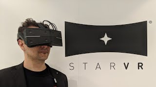 StarVR One - The New King Of High End Virtual Reality - MRTV StarVR One Hands-On Review