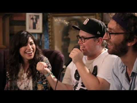 A Fireside Chat w/ Houndmouth and St. Paul & The Broken Bones at Forecastle