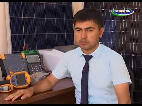 Solar Energy of Uzbekistan Television