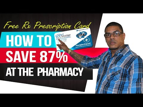 Best Prescription Savings Card | RX Pharmacy Discount Card