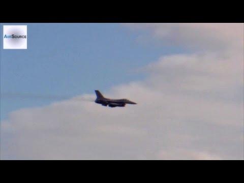 F-16 Fighting Falcon Bombing & Strafing Range
