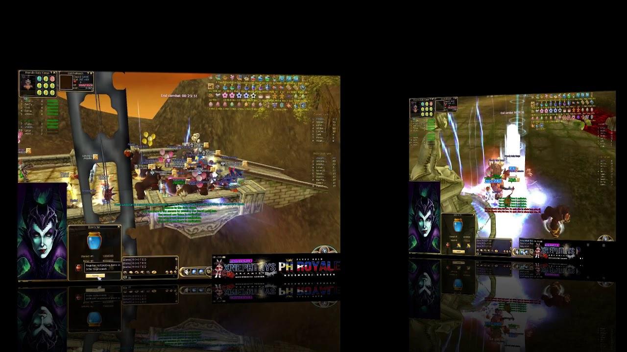 Flyff Mocomochi Guild Siege 08-25-2019- xNephthys- MVP