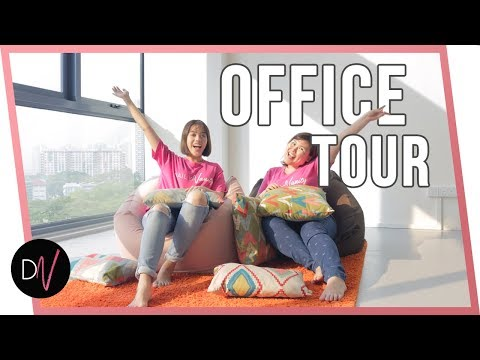 Join us on a Daily Vanity office tour and see our bean bags and snacks