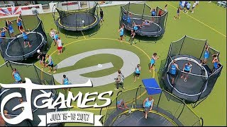 THE DREAM TRAMPOLINE SETUP!