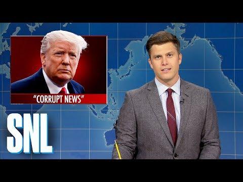 Weekend Update: Trump Brushes Off Impeachment Concerns - SNL