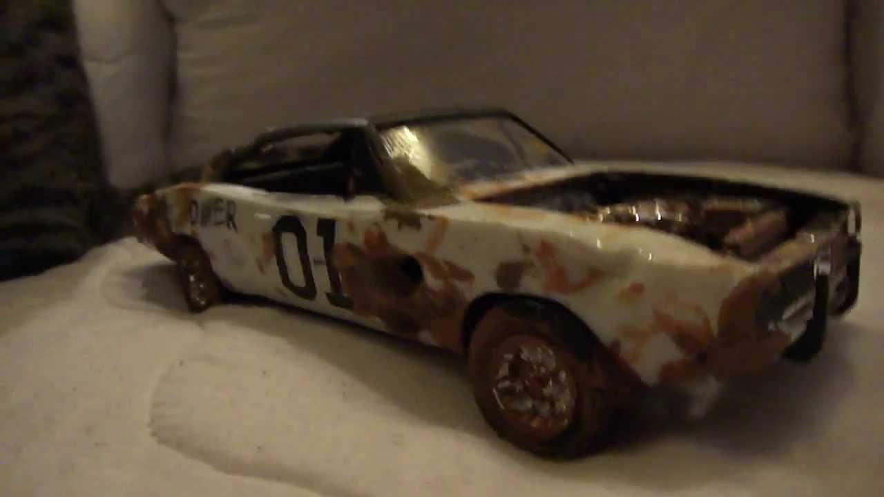 1969 Dodge Charger Model Review Demolition Derby Youtube