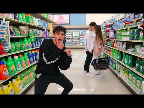 Thumbnail: CRAZY DARES IN GROCERY STORE!