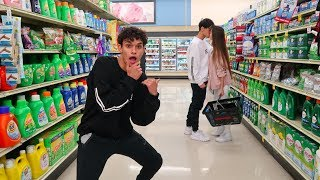 CRAZY DARES IN GROCERY STORE! thumbnail