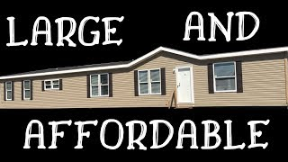 LARGE AND AFFORDABLE Mobile Home! 32x80 4 bed 2 bath Cappaert Double Wide | Mobile Home Masters