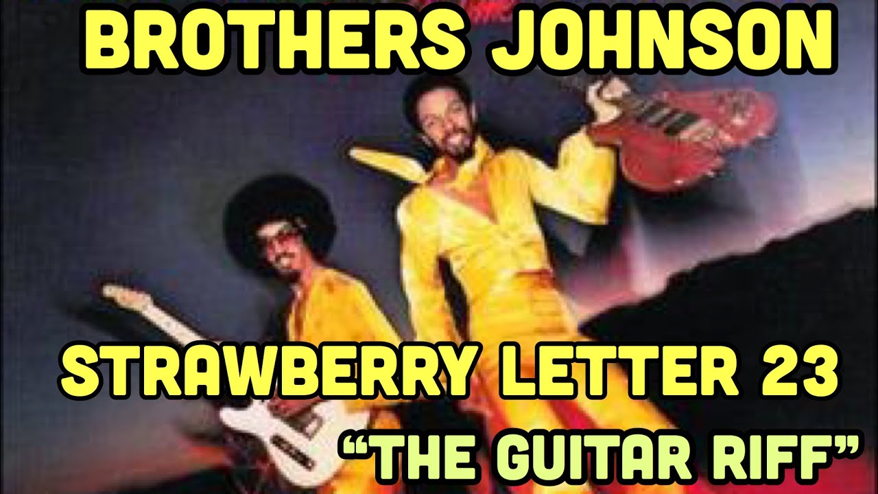 strawberry letter 23 guitar strawberry letter 23 tutorial for one guitar 10627