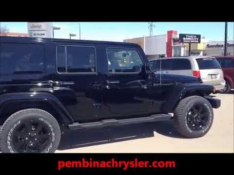 2014 Jeep Wrangler Sahara Unlimited ALTITUDE EDITION  YouTube