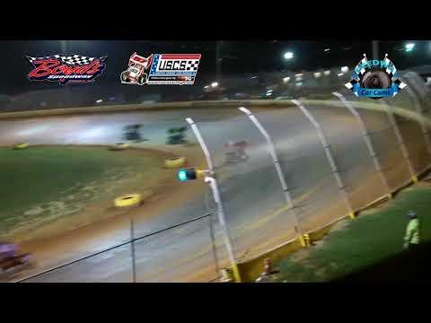 USCS Mini Sprint Car Feature - 8-18-17 Boyd's Speedway