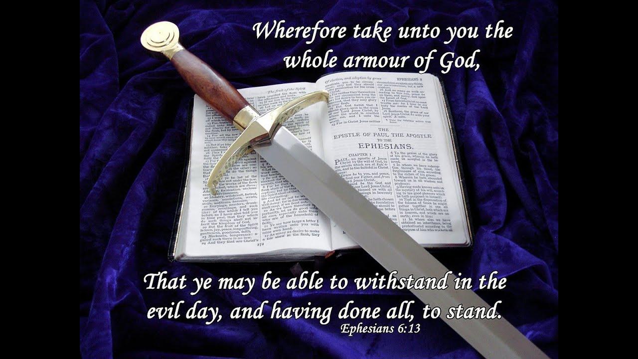 Image result for Use the sword of the spirit kjv