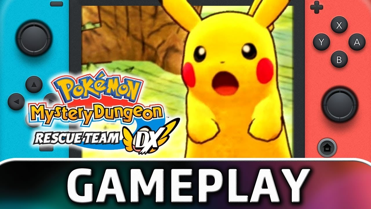 Pokemon Mystery Dungeon: Rescue Team DX | First 20 Minutes on Nintendo Switch